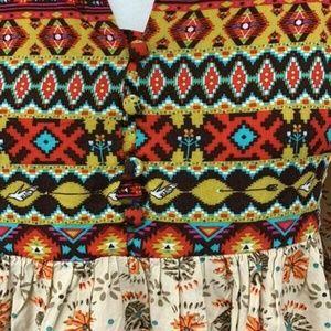 Umgee Dresses - Umgee Free Spirit Boho Tunic Mini Dress